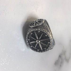 Other - Mens Compass Ring Size 10